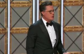 Stephen Colbert's Emmys 2017 Monologue Ft. Sean Spicer