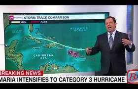Hurricane Maria is now a Category 3 storm