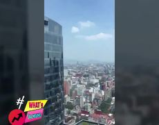 MEXICO CITY EARTHQUAKE Scary first videos 19/09/2017