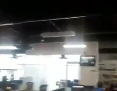 Sismo #CDMX Magnitud 7.1 desde piso 15 Plaza Carso