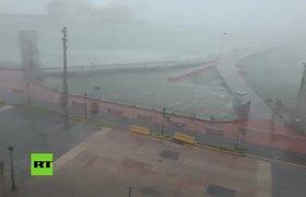 El huracán María toca tierra en Puerto Rico