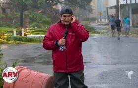 San Juan contemplates the first hurricanes of Hurricane Maria