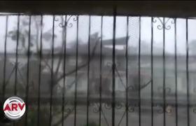 Impactantes images of Hurricane Maria