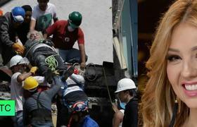 El mensaje de Thalía en medio de la tragedia por el sismo