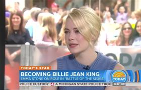 Emma Stone - Battle Of The Sexes in Today Show