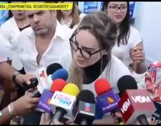 Belinda llora por los damnificados del sismo