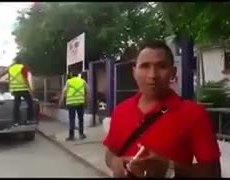 Graco Ramírez y esposa roban víveres para damnificados