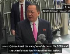 US denies declaring war on North Korea
