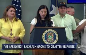 'I Am Mad As Hell': San Juan Mayor Criticizes Maria Response