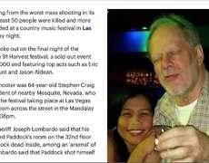 At least 50 dead, 406 injured in Las Vegas shooting