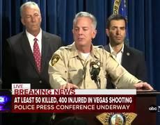 At least 58 dead, 515 injured in Las Vegas shooting