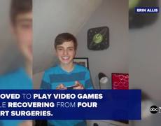 Teen with heart disease creates video game