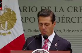 PEÑA NIETO LAS FUERZAS ARMADAS SON ALIADAS DE LOS MEXICANOS