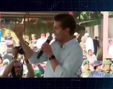 Peña Nieto: ¡Pide una Tanda! Para apoyar en Chiapas y Oaxaca