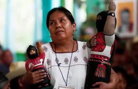 Marichuy, mujer indígena que buscará la presidencia de México