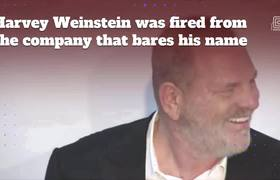 Harvey Weinstein fired over sexual harassment accusations