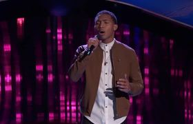 The Voice 2017 Blind Audition - Brandon Brown: