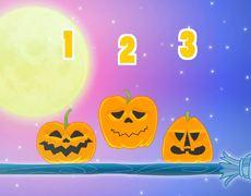 CINCO MONSTRUITOS | Con calabazas de Halloween