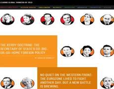 EPN es nombrado entre los 100 pensadores má influyentes del mundo