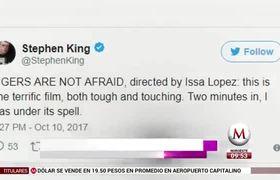 Stephen King recomienda película de terror mexicana