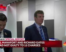 Paul Manafort And Richard Gates Plead Not Guilty To 12 Charges In Federal Court
