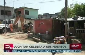 Juchitán, destrozado por sismo, celebra el #DíaDeMuertos
