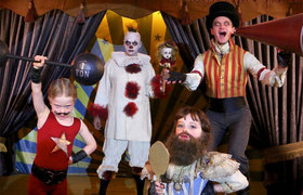 Neil Patrick Harris and his Halloween family costume