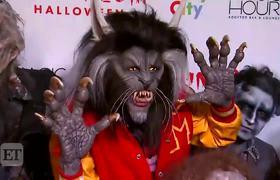 Heidi Klum Rocks Terrifying Michael Jackson 'Thriller'