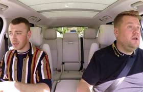 The Late Late Show: Carpool Karaoke with Sam Smith ft. Fifth Harmony