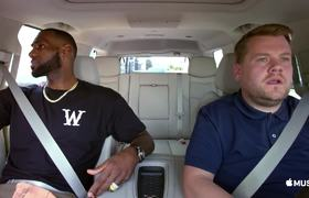 The Late Late Show : LeBron James & James Corden (Carpool Karaoke: The Series)