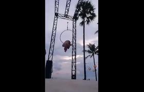 De Baño Limbo ViralMujer Rompe Bailando Extremo Videos Su Traje FK3Tl1Jc
