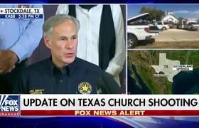 Greg Abbott: 26 lives lost in church shooting