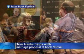 Tom Hanks Helps With Marriage Proposal