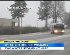 Breaking Now Winter Ice Storm Causes Severe Highway Accidents