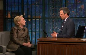 Late Night: Hillary Clinton Reacts to 2017's Election Results
