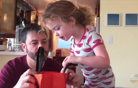 Jimmy Kimmel Live: Jimmy Kimmel Tells His Daughter He Ate All Her #Halloween Candy