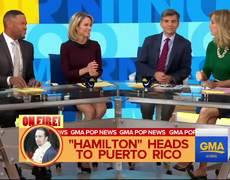 Lin-Manuel Miranda will reprise 'Hamilton' role in Puerto Rico