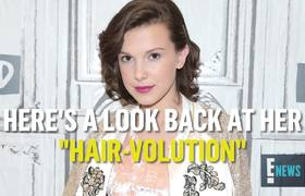 Millie Bobby Brown's Hair Evolution