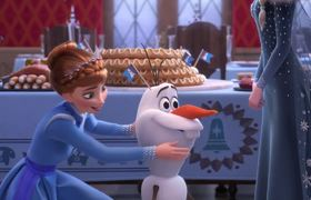 OLAF'S FROZEN ADVENTURE Movie Clip - Ring In The Season (2017)