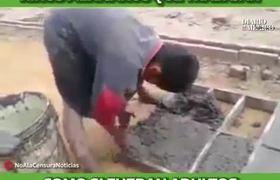 Niños mexicanos trabajando como adultos