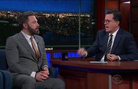 Ben Affleck: 'I'm Not A Superhero' (Colbert)
