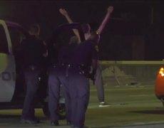 #VIRAL: Suspect Breaks Out Dance Moves Before Arrest