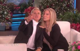 Barbra Streisand Visits Ellen for the First Time!