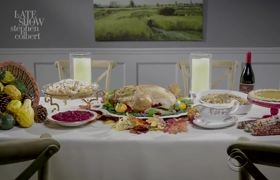 The Late Show Presents: Thanksgiving Tips