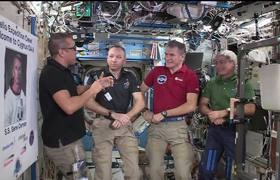 Thanksgiving Message from the International Space Station