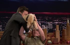 Jimmy Gets Attacked by Robert Irwin's Anteater