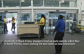 Black Friday 'Early Bird' Shoppers Get TV Deals