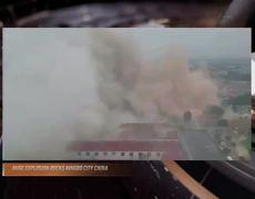 Fuerte explosión estremece la ciudad de Ningbo