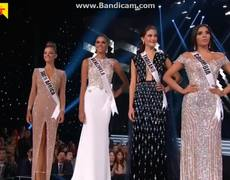 Miss Universe 2017 - Top 3 Questions & Answers