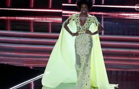 Miss Jamaica Wore Her Hair in An Afro at The 2017 Miss Universe